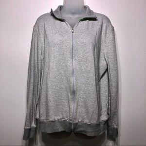 Michael Kors Zip Up Sweater Size Large